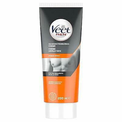 Veet for Men Haarentfernungs-Creme Power Effect Enthaarungscreme 200ml
