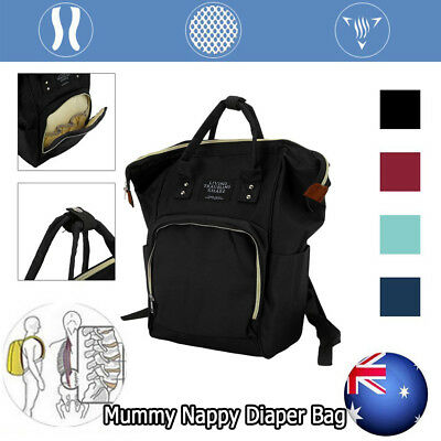 Multifunctional Large Baby Nappy Diaper Bag Waterproof Mummy Changing Backpack