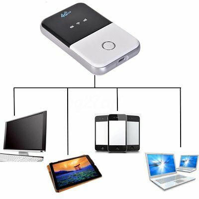 Portable 4G/3G LTE Mobile WiFi Wireless Pocket Hotspot Router Smart Modem Kit CN