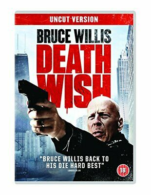 Death Wish (DVD) [2018] - DVD  GZVG The Cheap Fast Free Post