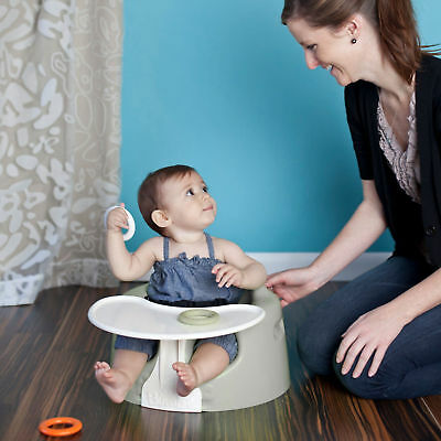 New Bumbo Combo Grey Floor Seat & Play Tray Ergonomic Design For Extra Support