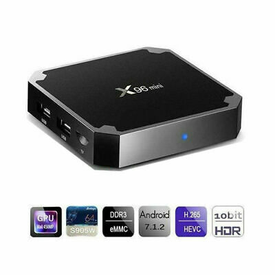 Smart TV BOX X96 mini Android 7.1 ROM 2GB / 16GB 4GB / 16GB telecomando tastiera