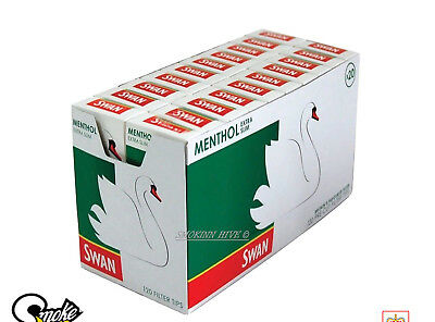 SWAN MENTHOL EXTRA SLIM CIGARETTE FILTER Tips Cheapest on eBay SAME DAY DISPATCH