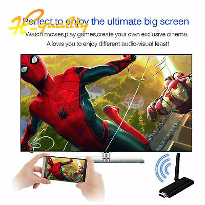 MiraScreen WIFI Display TV Dongle Miracast DLNA Airplay HDMI 1080P Receiver