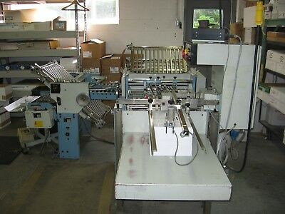 MBO T49 pile feed folder w/8pg rt angle WATCH VIDEOS stahl baum faltex challenge