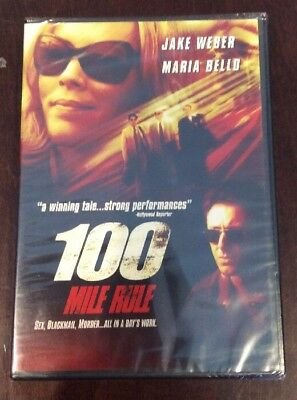 100 Mile Rule (DVD, 2004) NEW FACTORY SEALED !