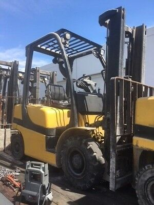 2013 Yale 5,000 lbs Forklift Pneumatic Tire Type GDP50 Diesel engine