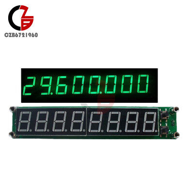 Signal Frequency Counter RF 0.1-60MHz 20MHz ~ 2.4GHz 8LED Green Cymometer Tester