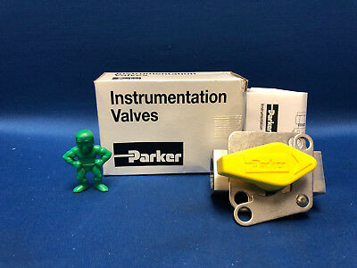 "Parker 8F-PR6-BNT-SS-LD-Y Stainless Steel Rotating Plug Valve ½"" Female NPT"