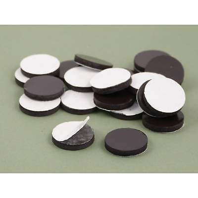 Small 20mm x 3mm self adhesive flexible disk magnet craft fridge var.packs