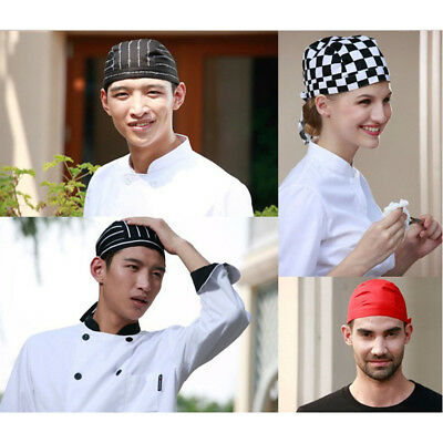 Colorful Pirates Chef Cap Skull Cap Professional Catering Various Chef Hat Cover