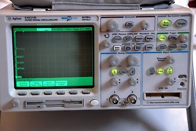 Agilent 54621D Mixed Signal Oscilloscope 2+16 channels, with probes and manuals
