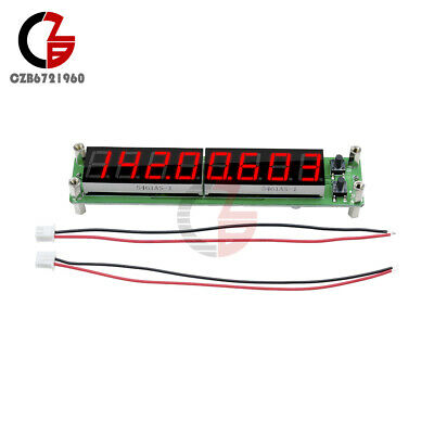 0.1-60MHz 20MHz ~ 2.4GHz RF Signal Frequency Counter Red 8 LED Cymometer Tester
