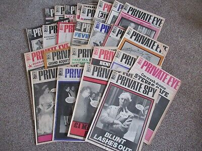 Private Eye Magazines 24 From 1978/9 All In Good/vg Condition