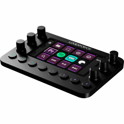 Loupedeck+ (Plus) Photo Editing Console Keyboard for Adobe Lightroom Skylum LD+
