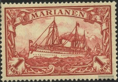 Marianas (German. Colony) 16 with hinge 1901 Ship Imperial Yacht Hohenzollern