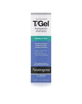 Neutrogena T/Gel Therapeutic Shampoo Stubborn Scalp Itch, 4.4 oz