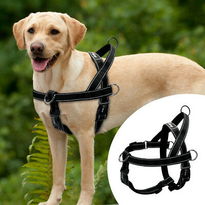 No Pull Large Dog Harness Reflective Front Leading Quick Fit Harness for Pitbull