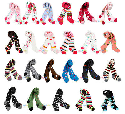 Toddler Baby Boy Girl Unisex Kids Tights Pantyhose Pants Trousers 0-24Months HOT