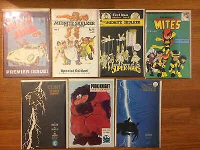 Copper Age Parody Lot Batman Dark Knight, X-Men, Secret Wars, Wonder Woman NM