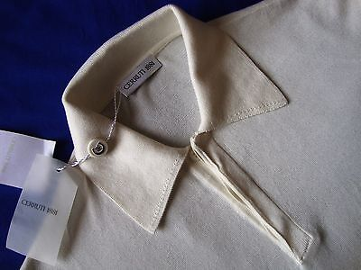 POLO  vintage 90's CERRUTI 1881 tg.50-M Made in Italy  NEW! RARE