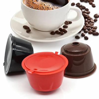 6 Colors Refillable Coffee Capsule Cup Reusable Filter For Dolce Gusto Nescafe