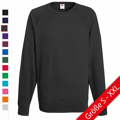 Fruit of the Loom Lightweight Raglan Sweat Sweatshirt