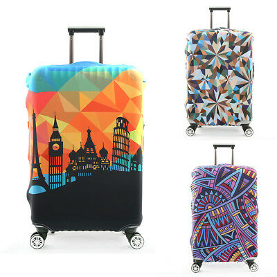 Waterproof Travel Elastic Luggage Suitcase Protective Cover Dust-proof Case New