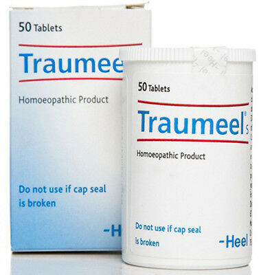 Traumeel S Homeopathic 50 Tablets - Anti-Inflammatory Pain Relief Analgesic