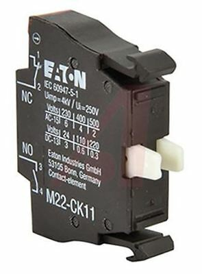 Eaton M22 Contact Block NC+NO Cage Clamp terminal