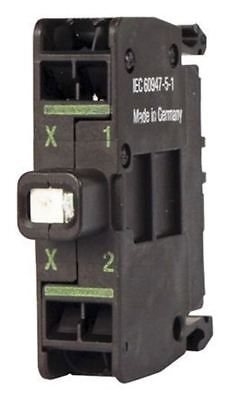 Eaton M22 Light Block LED Green 12 â?? 30 V ac/dc Cage Clamp terminal