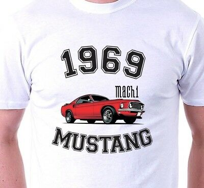 Ford Mustang T-Shirt  perfect Birthday  gift