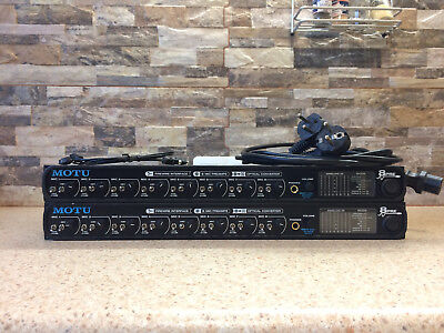 Motu 8pre Audio Interface (Digital Recording Interface + rack monuts)