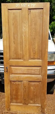 "31 1/2"" x 79"" Raised panel farmhouse bedroom door"
