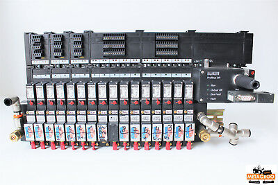 Buerkert 703861A Ventilinsel AirLine MKEN 8640 16x 5470 Profibus-DP + DI/DO +...