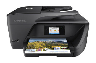HP OfficeJet Pro 6968 Wireless All-in-One Photo Printer w/ Mobile Printing - New