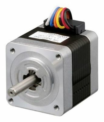 Sanyo Denki Unipolar Single Shaft Stepper Motor 1.8°, 0.15Nm, 24 V dc, 1.2 A, 6