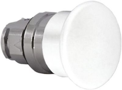 Schneider Electric Harmony XB4 Series, White Push Button Head, Latching, 22mm Cu