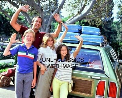 """National Lampoon's """"Vacation"""" 8X10 Photo Chevy Chase Beverly D'angelo Hall Baron"""