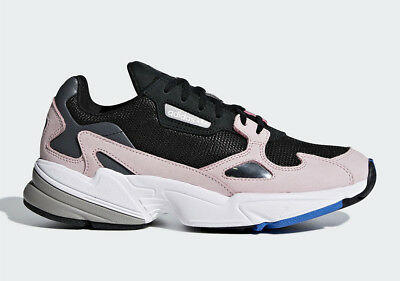 promo code ab6a8 a7942 Adidas Originals Falcon W Women Black Pink Lifestyle Sneakers New Shoes  B28126