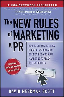 The New Rules of Marketing and PR : How to Use Social Media, Blogs,...  (ExLib)