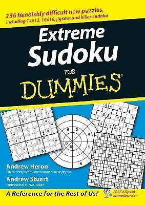 PUZZLE SUDOKU FOR Dummies The Game Unopened Numbers Sealed Box 2+