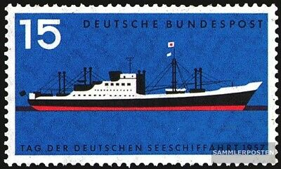 FRD (FR.Germany) 257 (complete issue) used 1957 maritime