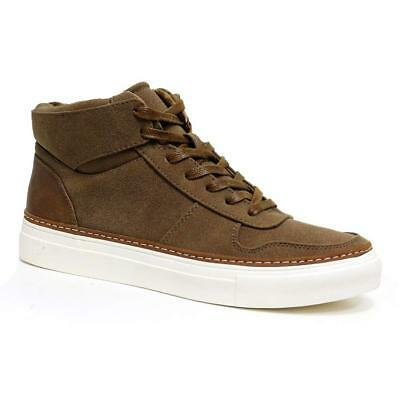 Mens Hi Tops Trainers New Designer Chunky Fashion Desert Ankle Boots Shoes Size