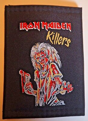 Vintage 1980's IRON MAIDEN Killers Nylon Wallet