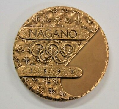 Nagano 1998 Winter Olympic Participation Medal
