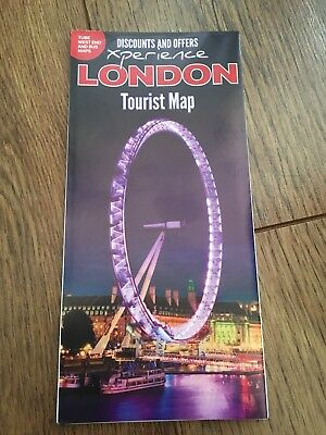 TOURSIT MAP OF LONDON - ENGLAND 2018 Plus discounts!