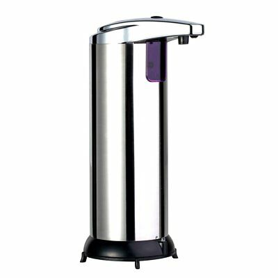 Automatic Stainless Steel Hands Free IR Sensor Soap Dispenser Stand Best GIFT UR