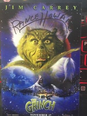 Rance Howard Authentic Hand Signed  4x6 Photo Grinch