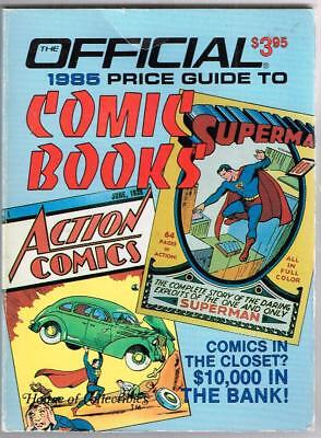 Official 1985 Price Guide to COMIC BOOKS House of Collectibles, 3rd Ed.